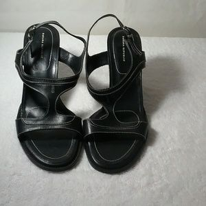 BANANA REPUBLIC ADJUSTABLE STRAP HEELS